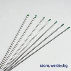 Волфрамови електроди - WP GREEN, 2.0-3.2 мм