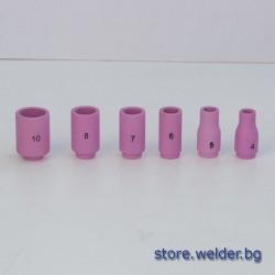 Керамични дюзи за ВИГ горелки TIG 9/20