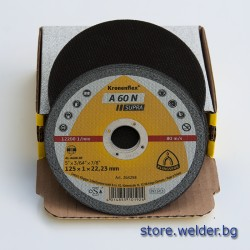 Диск за рязане KS A60-N Supra Al, 125 x 1