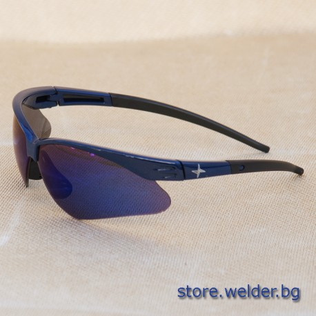 Тъмни защитни очила Boehler Blue Mirror