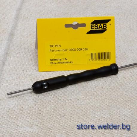 Държач за пръчки тел ESAB TIG Pen