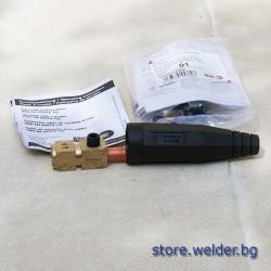 Заваръчен конектор/байонет, 35-50 мм², женски
