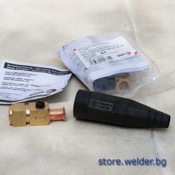 Заваръчен конектор/байонет, 50-70 мм², женски