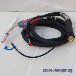 Водна горелка за МИГ заваряване - 501 D, 4 м.