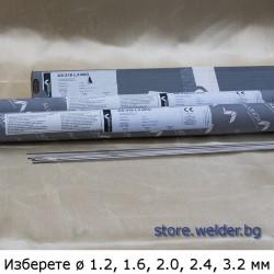 Пръчки неръждаем тел ВИГ/TIG, Alunox 316L Si