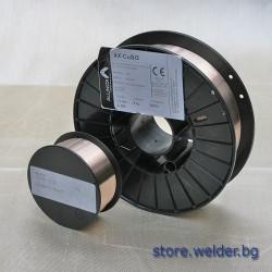 Ролки тел МИГ, бронз, Alunox AX-CuSi3