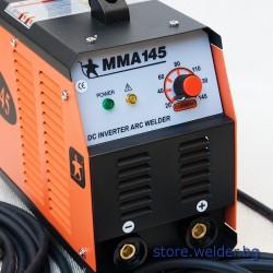 Инверторен електрожен DEL MMA 145
