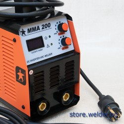 Инверторен електрожен DEL MMA 200