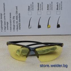 Жълти защитни очила ESAB Warrior Yellow