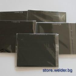 Тъмни стъкла ESAB, DIN 9 до 13, 90x110 мм.