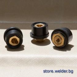 Конектор/байонет за панел, 70-95 мм², женски