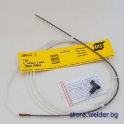 Тефлоновa броня ESAB 4.5м. за Al тел Ø1.0 мм