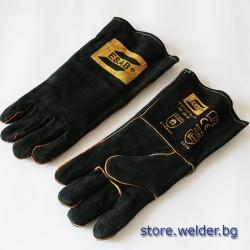Заваръчни ръкавици ESAB Heavy Duty Black, 9/L